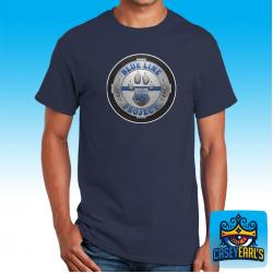 """Blueline K9 Logo"" NAVY T-SHIRT"